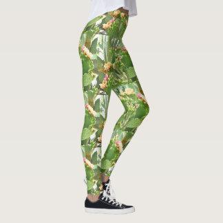 Prickly Pear Cactus Women's Leggings