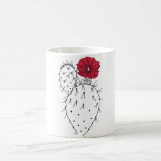 Prickly pear coffee mug