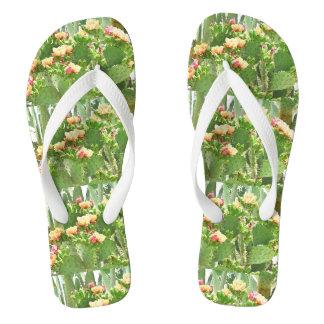 Prickly Pear Flip Flops
