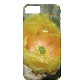 Prickly Pear Green Yellow Bloom iPhone 7 Case