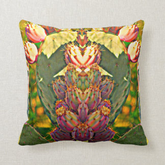 Prickly Pear Photo Art Polyester Throw Pillow