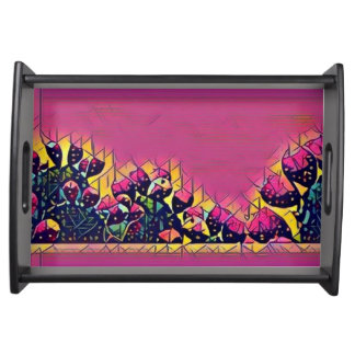 Prickly Pear Sunset Serving Tray