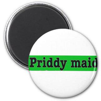 Priddymaid 6 Cm Round Magnet