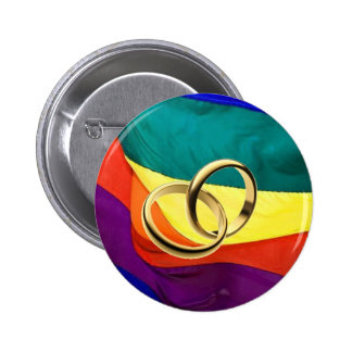 Pride and Marriage Buttons