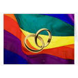 Pride and Marriage Greeting Card