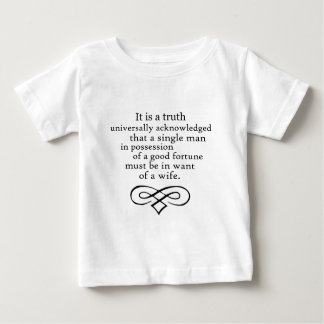 Pride and Prejudice Baby T-Shirt