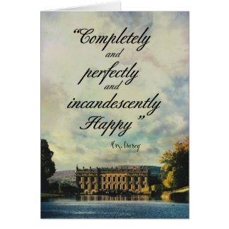 Pride and Prejudice Greeting Card