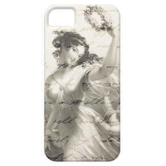 Pride and prejudice handwriting victorian iPhone 5 cover