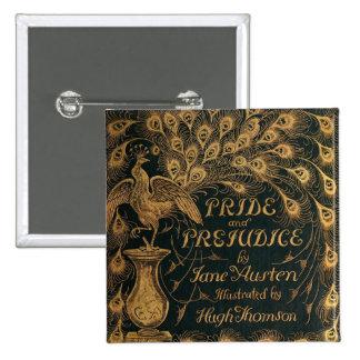 Pride and Prejudice Jane Austen (1894) 15 Cm Square Badge