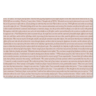 Pride and Prejudice Quote Tissue Paper