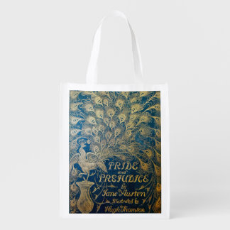 Pride and Prejudice Reusable Bag - Antique Cover