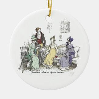 Pride and Prejudice - The Netherfield Ball Invitat Christmas Ornament