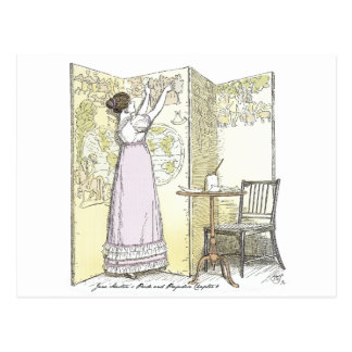 Pride and Prejudice - Very Accomplished Ladies Postcard