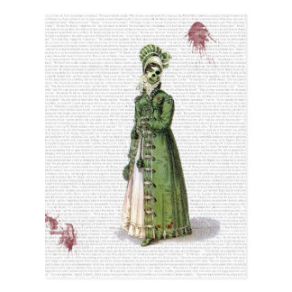 Pride and Prejudice - Zombified! Postcard