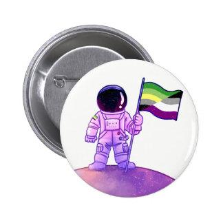 Pride Astronaut [Aro Ace] 6 Cm Round Badge
