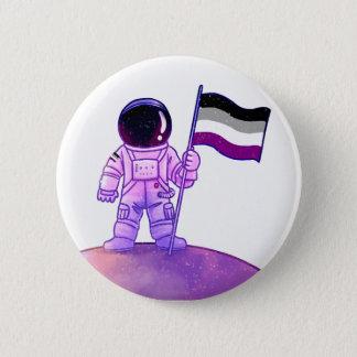 Pride Astronaut [Asexual] 6 Cm Round Badge