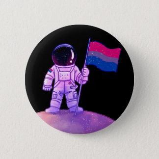 Pride Astronaut [Bi] 6 Cm Round Badge
