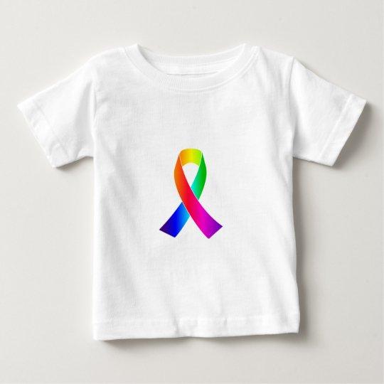 Pride Awareness Rainbow Ribbon gifts Baby T-Shirt