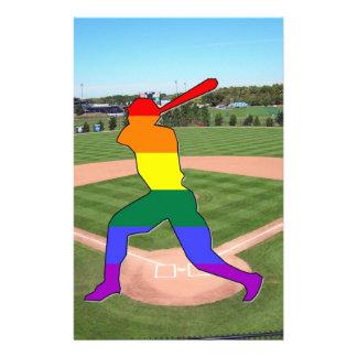 Pride Baseball Stationery Design