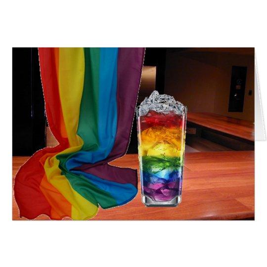 Pride Cocktail Card