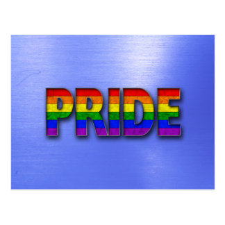 Pride Colors - Blue Postcard