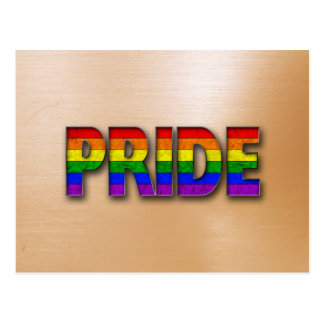 Pride Colors - Orange Postcard