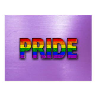Pride Colors - Purple Postcard