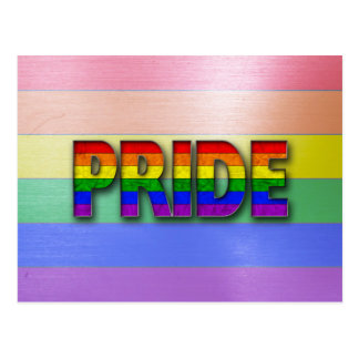 Pride Colors - Rainbow Postcard