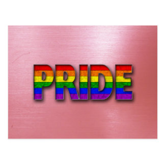 Pride Colors - Red Postcard