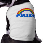 Pride Colours Sleeveless Dog Shirt