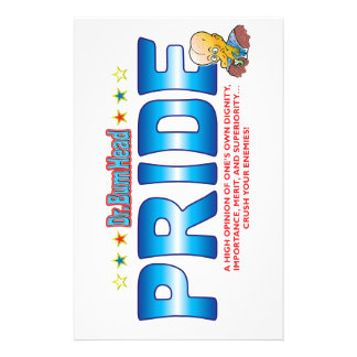 Pride Dr Bum Head Stationery Paper