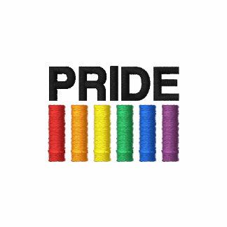 Pride Embroidered AA Fleece Zip Jogger Jacket