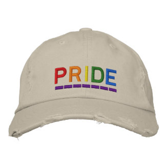 Pride Embroidered Baseball Cap
