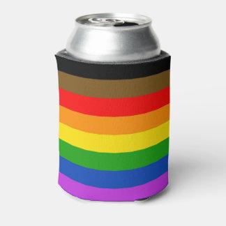 Pride flag can cooler