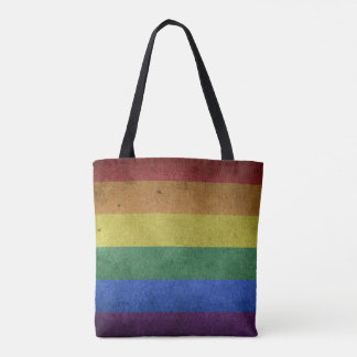 Pride flag rainbow cross body bag