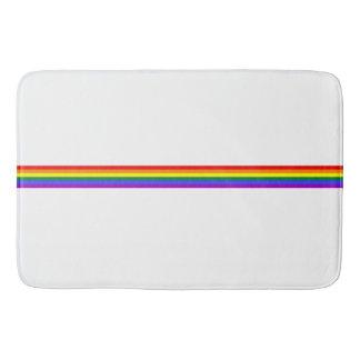 Pride flag rainbow custom  Bathroom mat