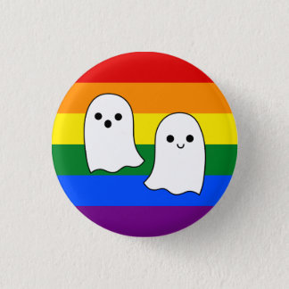 Pride Ghosts 3 Cm Round Badge