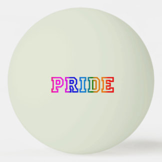 PRIDE Glow-in-the-Dark Ping Pong Ball