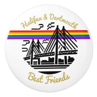 Pride Halifax Dartmouth  best friends  drawer pull