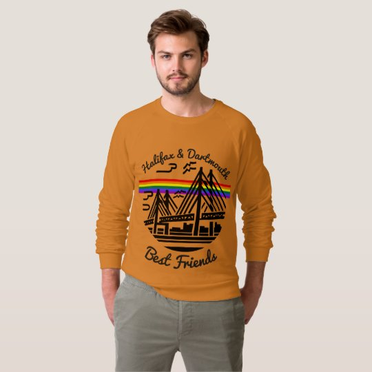 Pride Halifax Dartmouth Best Friends sweater
