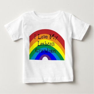 Pride: I love my grandmas Baby T-Shirt