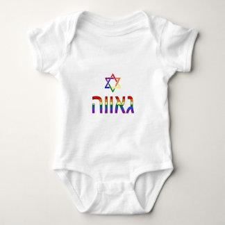 """""""Pride"""" in Hebrew Tees"""
