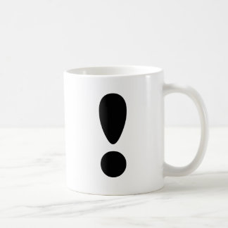 Pride Letter Exclamation.PNG Basic White Mug