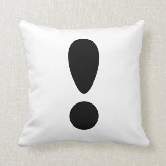 Pride Letter Exclamation PNG Pillow