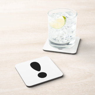 Pride Letter Exclamation PNG Drink Coaster