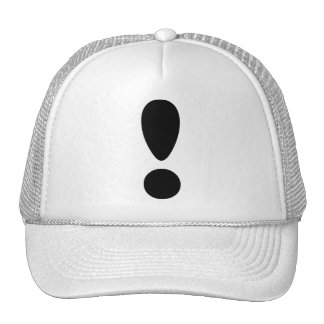 Pride Letter Exclamation.PNG Mesh Hat