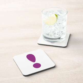 Pride Letter Exclamation Purple png Coasters