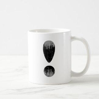 PRIDE LETTER EXCLAMATION VINTAGE.png Basic White Mug