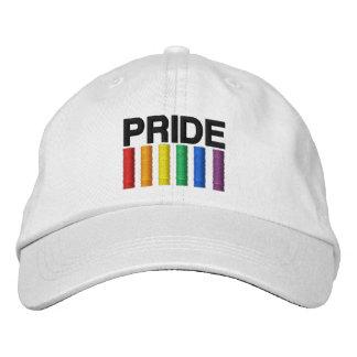 Pride Light Color Embroidered Hat