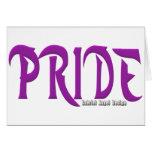 Pride Logo Card